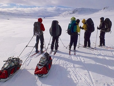 langlauftocht-Hardangervidda